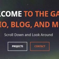 Stargazer Game Studio Website